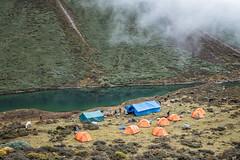 Thrika camp near a small lake - Gasa District - Snowman Trek - Bhutan (PascalBo) Tags: nikon d500 asie asia southasia asiedusud drukyul drukgyalkhap bhutan bhoutan འབྲུག་ཡུལ། འབྲུག་རྒྱལ་ཁབ་ snowman trek trekking hike hiking lunana gasa himalaya himalayas jigmedorjinationalpark mountain montagne lake lac camp camping tent bivouac outdoor outdoors pascalboegli