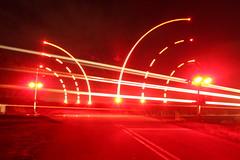 Fast Oil (recekasten) Tags: trains railroads cn neenah medina junction night exposure gp9 classic wisconsin csx fanta fe santa