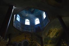 _DSC4601 (Aris_Totel) Tags: orthodoxy church architecture faith people saint light sunray window monastery chapel kirk father