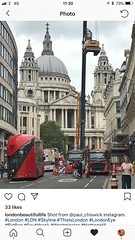 St Paul's Cathedral, City of London, England (PaChambers) Tags: europe cathedral england uk stpaul's summer capital 2018 cityoflondon london historic urban church