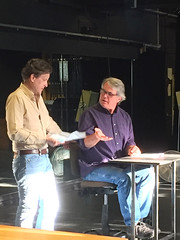 2018 YIP Day 242: Last rehearsal before the break (knoopie) Tags: 2018 august iphone picturemail casavalentina imbessie beguiledagain itsthecheesecake lesserknownplayers theater tim tom friends 2018yip project365 365project 2018365 yiipday242 day242 tps theatrepugetsound