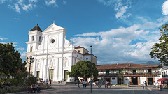 Santa Fe de Antioquia (JOMAGACOL) Tags: santa fe de antioquia blue azul iglesia town pueblo colonial colombia arquitectura