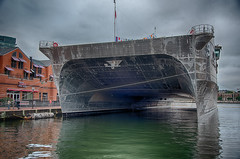 Boat_121994h (gpferd) Tags: boat building construction hdr harbor highdynamicrange vehicle water baltimore maryland unitedstates us