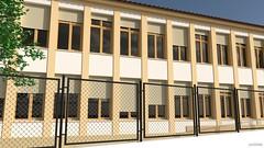 Colegio Vicente Espinel - Exterior 01 (jm00092) Tags: blender 3d ronda vicenteespinel