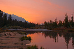 Canmore, Alberta, Canada (jack.mihlenstedt) Tags: nikonflickraward nikon landscape d750 1635mm canada sunrise colour alberta canmore banff national park mountains lake rocky rockies greatphotographers