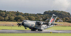 ZM416 Atlas, Prestwick (wwshack) Tags: a400m airbusdefenceandspace airbusmilitary atlas egpk glasgowprestwick pik prestwick raf royalairforce scotland zm416