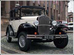 Wedding Car II (zweiblumen) Tags: car ford replica bigvow liverpool merseyside england uk canoneos50d polariser zweiblumen