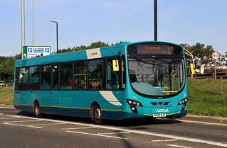 Arriva North East: 1424 / NK09 EJZ