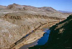SP 7554 West at Palisade, NV (thechief500) Tags: overlandroute railroads sp espee southernpacific palisadecanyon