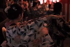 Akasaka Hikawa Matsuri, Tokyo, Japan (Plan R) Tags: kimono yukata dancer japan tokyo akasaka hikawa matsuri festival evening night woman leica m 240 noctilux 50mm