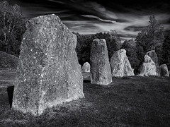 Anundshög stones (Tim Ravenscroft) Tags: stones ancient anundshög sweden hasselblad hasselbladx1d monochrome blackandwhite blackwhite