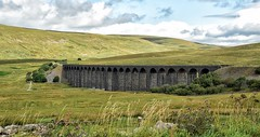 Ribblehead Viaduct (Joan's Pics 2012) Tags: ribbleheadviaduct arches trains moors wildplaces travel curved old structure