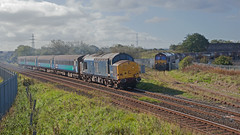 Tanks For Waiting (Richie B.) Tags: 2c45 arriva northern trains english electric british rail drs direct services class 37 37422 workington cumbria 6c48 emd general motors 66 66207 db cargo