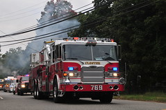 Closter Fire Department Knickerbocker Hook and Ladder Company Tower Ladder 769 (Triborough) Tags: nj newjersey bergencounty oldtappan cfd closterfiredepartment firetruck fireengine ladder tower towerladder towerladder769 ladder769 tower769 pierce arrrow xt arrowxt