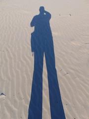 My shadow on the dunes (Quevillon) Tags: park sandbanksprovincialpark ontarioparks westlake athol sandbanksdunesbeach alainquevillon shadow dunes canada ontario easternontario centreontario princeedwardcounty isleofquinte