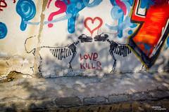 Love kills (Vasdokas) Tags: vasdokas greece thessaloniki graffiti colors anopoli macedoniagreece makedonia macedoniatimeless macedonian macédoine mazedonien μακεδονια македонијамакедонскимакедонци
