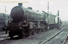 Perth shed 61116 ca19652 (Ernies Railway Archive) Tags: perthstation cr nbr hr lms lner scotrail