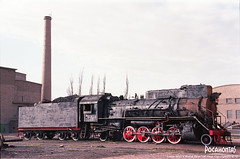 2018/10/3 JS8314 Sandaoling (Pocahontas®) Tags: js8314 steam engine train locomotive rail railway railroad depot steamlocomotive film kodakektar100