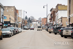 Main Street in Minot, ND (NDDOT Photos) Tags: urban citystreets mainstreetinitiative parking sidewalks minot nd usa
