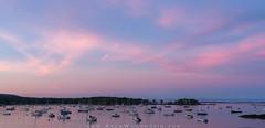 Sunset at Camden Harbor (Adam Woodworth) Tags: camden camdenharbor maine mainecoast newengland seacoast sunset