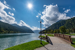 Achensee in Tirol - Nordseite - 864 (Peter Goll thx for +8.000.000 views) Tags: 2018 uraub austira alps himmel berge lake alpen achensee tirol clouds sky brücke österreich bridge wolken mountain achenkirch at