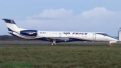 5NBUX ERJ145 Air Peace Hopper (Anhedral) Tags: 5nbux embraer erj145 airpeacehopper delivery n5nbux 00005b einn snn shannonairport