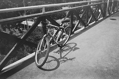 (Cak Bowo) Tags: snapshot sepeda bicycle transportasi transportation surabaya eastjava indonesia olympus xa2 olympusxa2 pointandshoot pocket compact film arista aristaeduultra400 bw pyrocat pyrocatmc selfdevelop