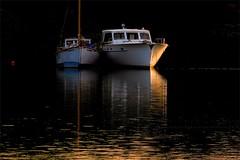 Gloaming Cheek To Cheek - Mejilla A Mejilla De  Crepúsculo (Konny :-))) Tags: sailboat segelboot barcavela velero veleiro bateauàvoile purjevene żaglówka zeilboot seilbåt sylboat segelbåt seglskútu ιστιοφόρο парусноесудно sejlbåd ヨット 帆船 veler jedrilica 범선 vitorlás