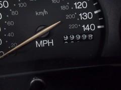 Round the Clock,2 (doojohn701) Tags: black speedometre dashboard millage reflection ford fiesta car uk