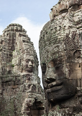 Giant buddha faces inside Bayon temple, Siem Reap Province, Angkor, Cambodia (Eric Lafforgue) Tags: ancientcivilisation angkor angkorwat apsara architecture artscultureandentertainment asia bayon bayontemple buddha buddhism cambodia colourimage cultures day famousplace giant history humanbodypart humanface indochina khmer monument nopeople oldruin outdoors photography placeofworship prasatbayon religion spirituality statue stonematerial temple thepast tourism traditionallycambodian travel traveldestinations unescoworldheritagesite vertical wat yasodharapura camboimg9437 siemreapprovince