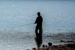 The Angler - NK2_1268-2 (Jean Fry) Tags: dartmoor dartmoornationalpark burratorreservoir anglers fishing uk devon englanduk