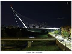 Calatrava Bridge (Cufari Photo) Tags: bridge calatrava cosenza architecture italia calabria architettura ponti arco exposure bulb night
