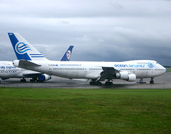 F-GCBH Boeing 747 Ocean Airlines (@Eurospot) Tags: fgcbh boeing 747 747200 oceanairlines lflx chateauroux deols