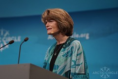 US Senator Lisa Murkowski of Alaska (arctic_circle) Tags: arcticcircle arctic lisamurkowski alaska unitedstates senate senator iceland