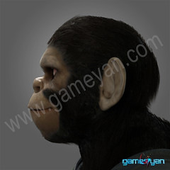 Cinematic 3D Character of Kung Fu Ape – sci-fi Cartoon feature film - Boston, USA (GameYanStudio) Tags: 3d 3danimationstudio animation characte character modeling development film game gamedesign motioncapture movie pre production rendering riggingandanimationservices sculpting sculpture studio texture texturing vfxservices