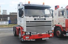 Scania 142M V8 (1173ZR). (Fred Dean Jnr) Tags: wexfordreg scania 142m v8 1173zr zr dublinport september2015 truck lorry
