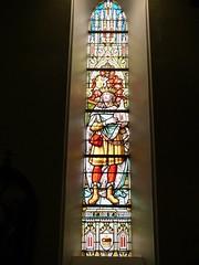 Church - St Andrews Catholic, Braemar 180711 [Stained Glass Window 8a] (maljoe) Tags: church churches braemar stainedglasswindow stainedglass stainedglasswindows