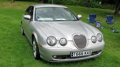 Berkshire Motor Show - Reading, England (Mic V.) Tags: berkshire motor show reading england uk car voiture british motorshow t666kas 2003 jaguar stype r v8 42l 390 bhp s type sport saloon berline