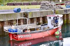 Boddam Harbour - Boddam Scotland - 17/10/2018 (DanoAberdeen) Tags: islajay pd1090 bonnyscotland boats boddam peterhead seafarers summer scottish scotland seaport scottishhighlands danoaberdeen 2018 fishing freshair fishingvillage fishingboat fishermen trawlers transport fishingtown fisherman trawlermen fishingtrawlers scottishtrawlers harbour berthed aberdeenscotland aberdeen aberdeenshire grampian geotagged nikond750 lifeatsea shellfish mackrel cod northsea northeast northeastscotland watercraft scotch scottishwater creels crabs candid amateur water bluesky historicscotland history historic scottishhistory walks tranquil peaceful scenery landscape landmark winter spring autumn sunlight