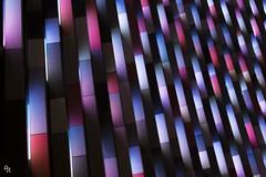 Signal wave (Andrea Rizzi Esk) Tags: pattern light colorful blue architecture prague czech repubblic europe signal festival celebration alternate brillant 2018 wave main point karlin abstract