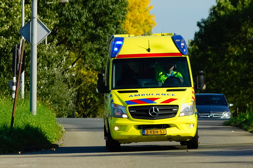 01488b3b8a Dutch Ambulance underway to an hostpital in Amsterdam after an emergency  call
