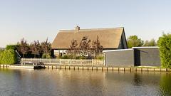 Dutch Home Kinderdijk (rschnaible) Tags: kinderdijk netherlands work production water control house home architecture