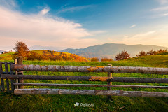 wooden fence on grassy rural field-171810 (M. Pellinni) Tags: fence countryside rural mountain autumn morning outdoors background tourism wooden grassy field distant haze lovely landscape beautiful mountainous autumnal scenery sunrise gorgeous sky nature fall ridge enclosure rollinghills elevation picturesque viewpoint tree meadow forenoon suburb agriculture farmland weather alpine wonderland ecotourism ruraltourism colorful district barrier