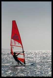 backlighted sail