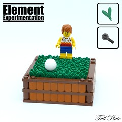Element Experimentation: Soccer Grass (Emil Lidé) Tags: lego moc element experimentation grass soccer