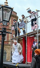 YMPST waggon play performance, St Helen's Square, 16 September 2018 - 08 (nican45) Tags: yorkmysteryplays2018 16september2018 16092018 18135 18135mm 2018 csc fuji fujifilm mysteryplays nickansell september sthelens sthelenssquare supporterstrust theharrowingofhell xt2 xf18135mmf3556rlmoiswr ymp ympst york yorkshire cast costumes mirrorless performance photographer photography waggonplay