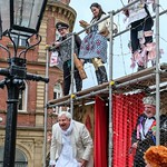 YMPST waggon play performance, St Helen's Square, 16 September 2018 - 08 thumbnail