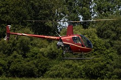 G-OBIO (LIAM J McMANUS - Manchester Airport Photostream) Tags: gobio goexclusive robinson r22 beta robinsonr22 helicopter barton egcb cityairportmanchester