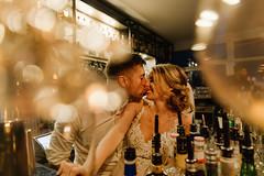 e&r wedding in darmstadt (Yuliya Bahr) Tags: wedding bride groom kiss love together hug bokeh yellow bar dark echo whimsey