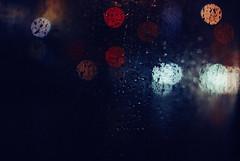 Rain (ewitsoe) Tags: 35mm autumn city cityscape fall nikond80 street warszawa erikwitsoe erikwitsoecom poland urban warsaw windowview water raindrops rainng night dark bokeh tone moody mood atmosphere cinematic raining